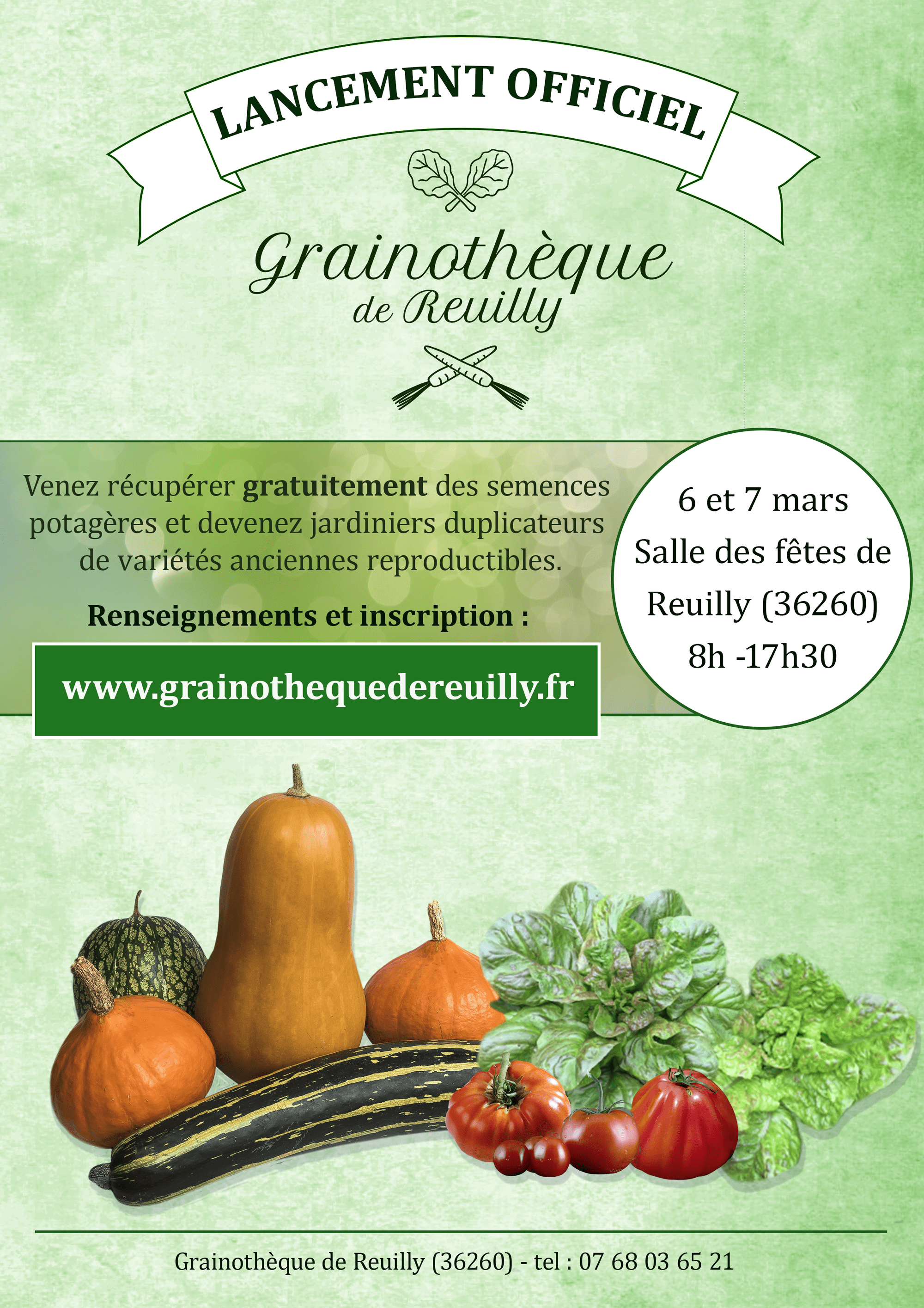 affiche-lancement de Grainotheque de Reuilly finale